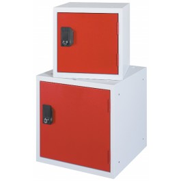 Cube locker OKK30 en OKK40 rood