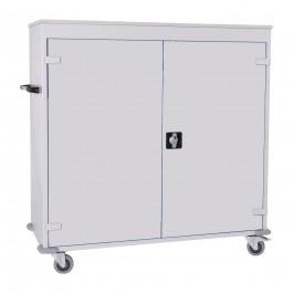 Laptopkar 30 vaks (lichtgrijs/lichtgrijs)