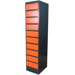 laptoplocker (oranje/grijs)