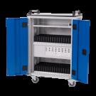 Tablet trolley (lichtgrijs/gentiaanblauw)