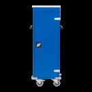 Laptopkar 10 vaks (blauw/blauw)